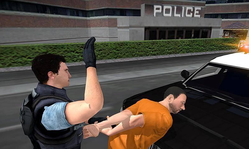 警方卡车大佬大通截图2