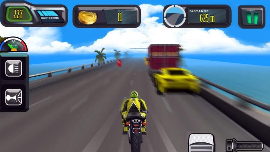 高速公路 摩托车 竞速截图1