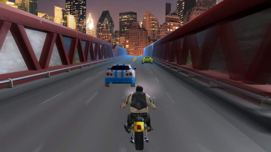 高速公路 摩托车 竞速截图2