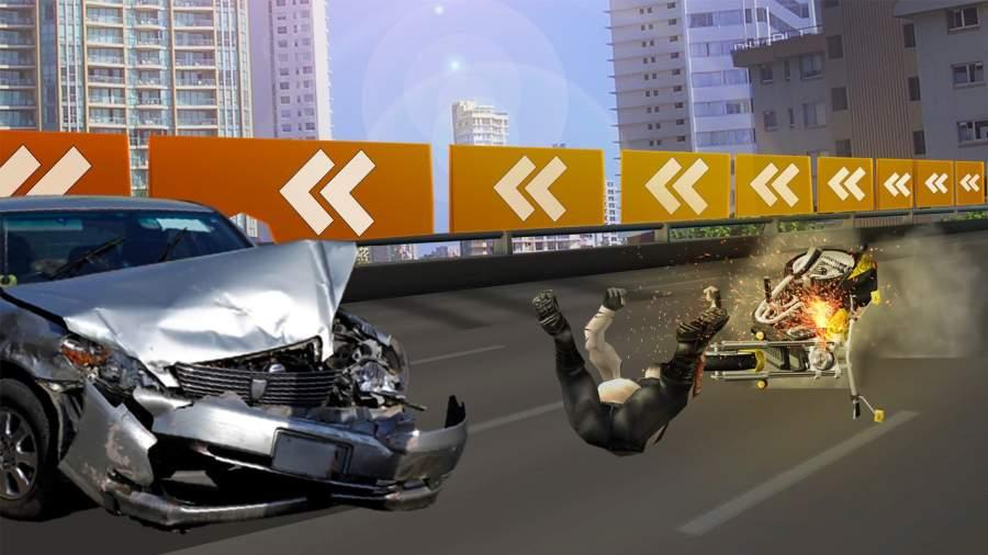 高速公路 摩托车 竞速截图3