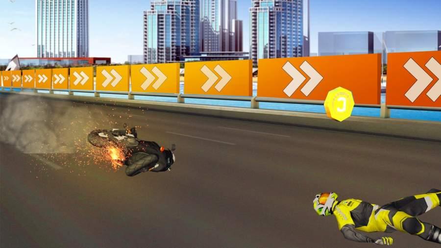 高速公路 摩托车 竞速截图6