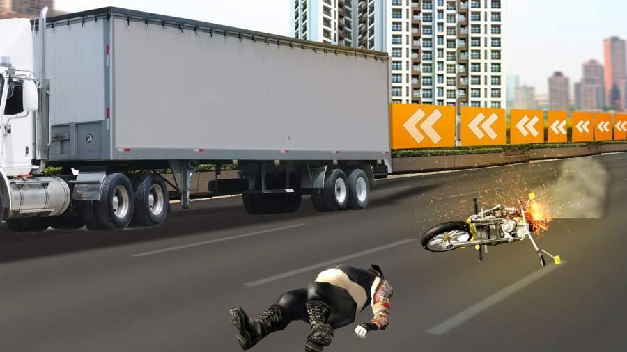 高速公路 摩托车 竞速截图7