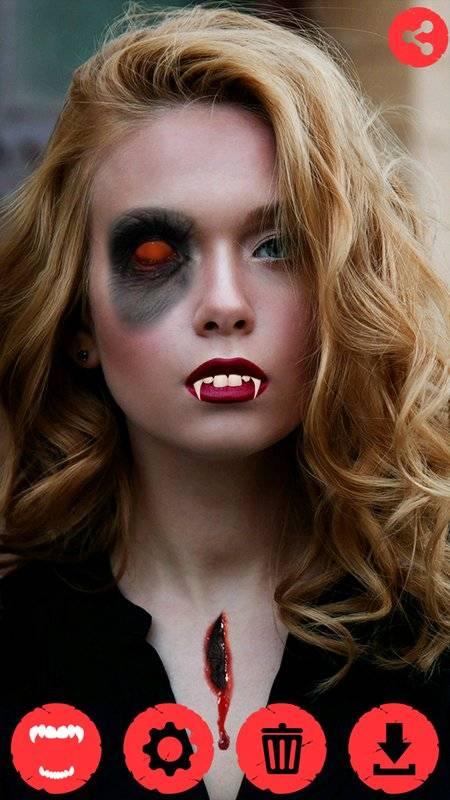 吸血鬼牙 照片上