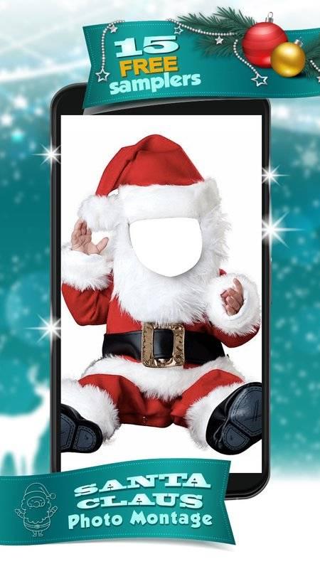 圣诞老人  –  照片蒙太奇截图0
