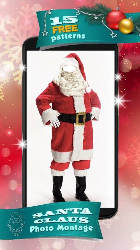 圣诞老人  –  照片蒙太奇截图1