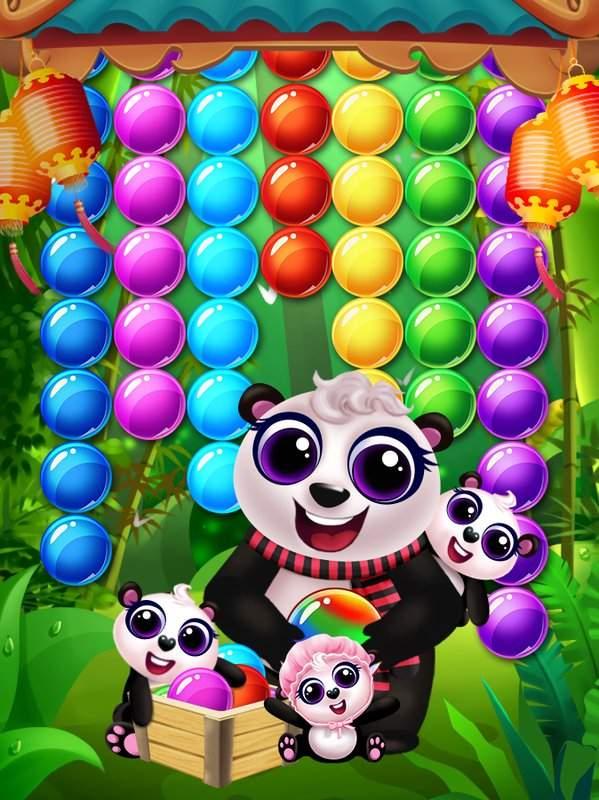 熊猫妈妈保护宝宝截图1