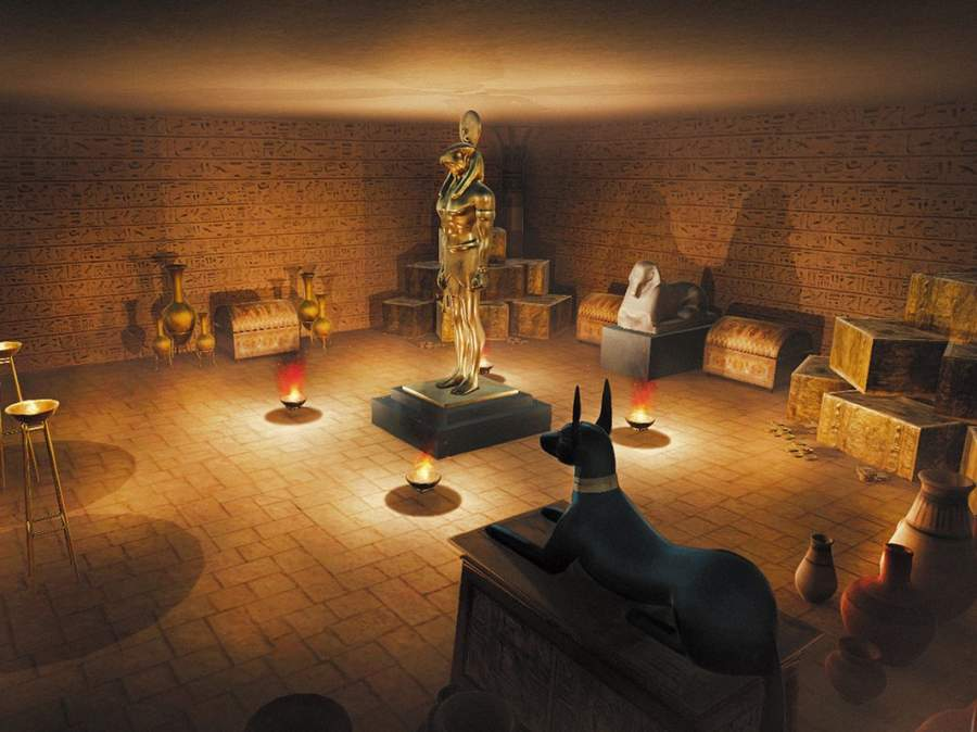 Egypt VR: Pyramid Tomb Adventure Game截图0