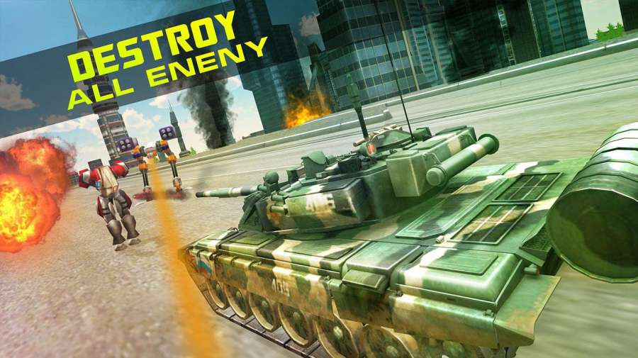 战争:机器人VS坦克截图0