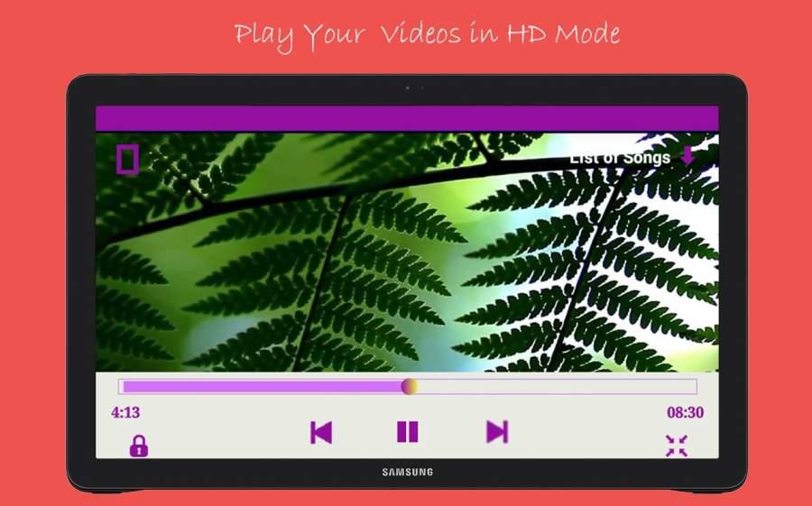 高清视频和音乐播放器截图1