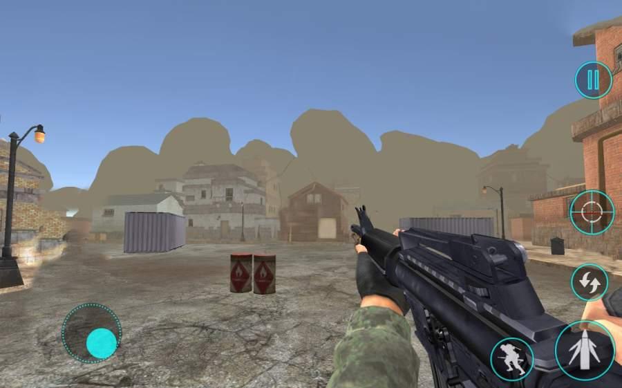边境 军队 突击队: 狙击兵 射击截图2