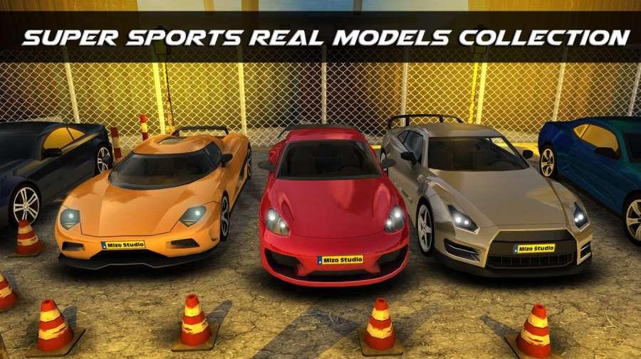 真正的街车停车游戏: 停车冒险3D截图0