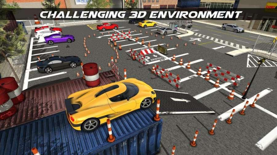 真正的街车停车游戏: 停车冒险3D截图1