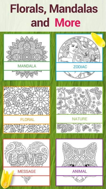 秘密涂色花园—手绘减压神器截图2