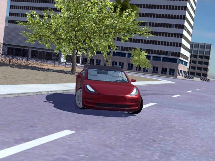 Urban Electric Car Game截图0