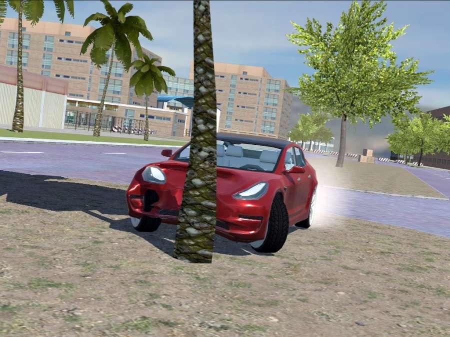 Urban Electric Car Game截图2