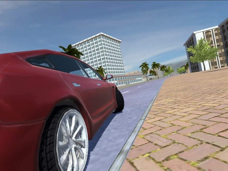 Urban Electric Car Game截图3