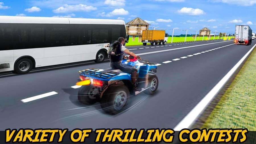 极限四骑自行车种族:公路漂流3D游戏