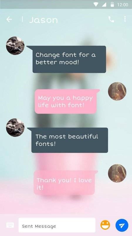 字體為FlipFont,酷字體文本免費截图2