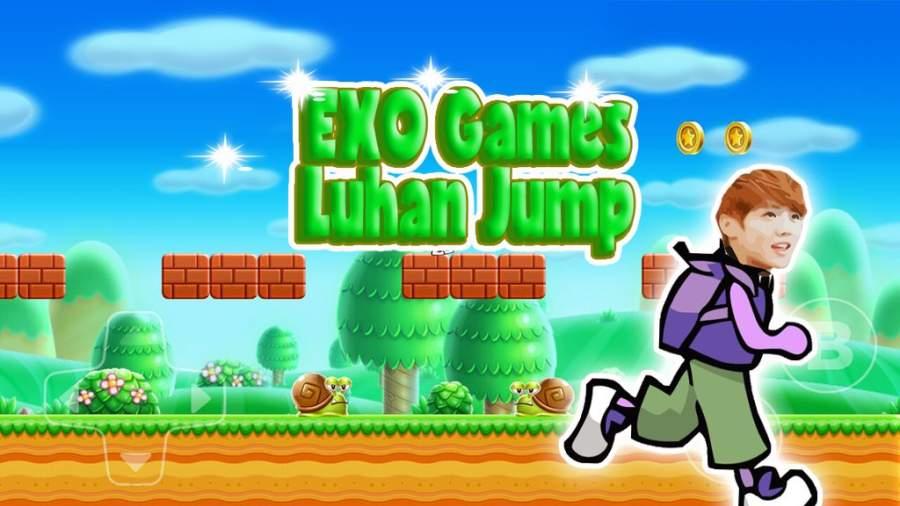 EXO Games Luhan Jungle Jump