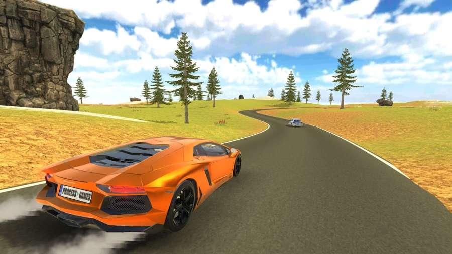 Aventador Drift Simulator截图0