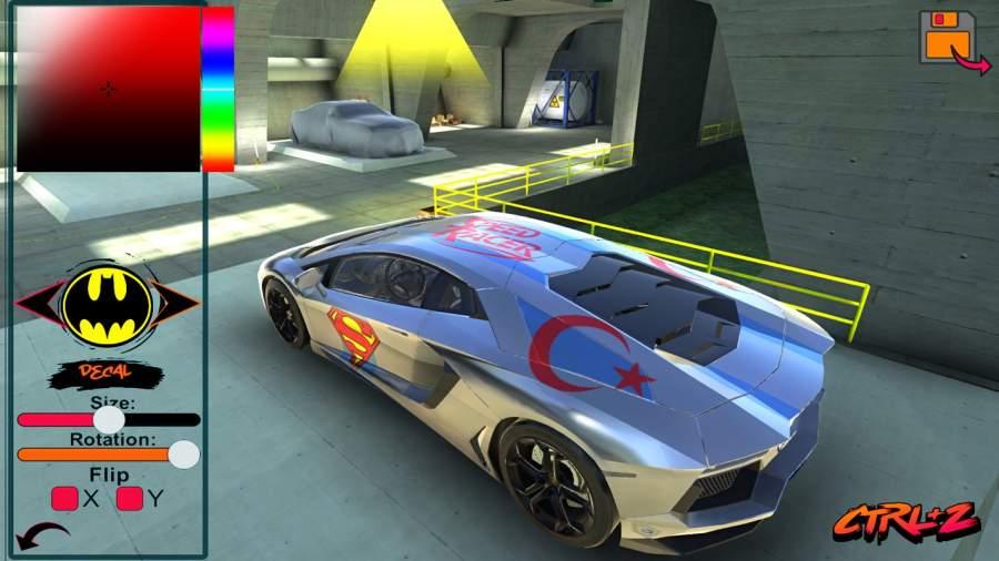 Aventador Drift Simulator截图7