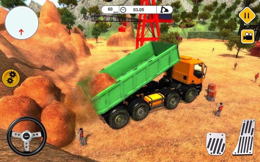 起重机挖掘机生成器截图7