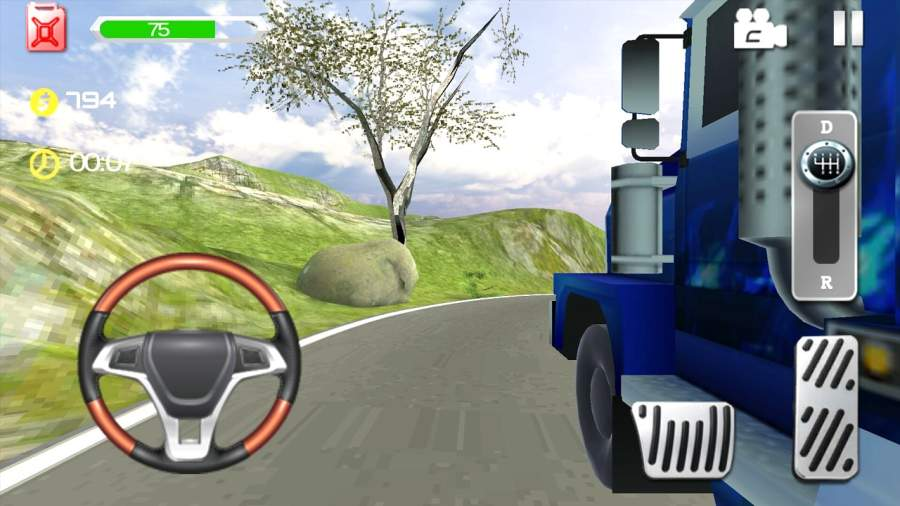 Truck Driving Speed 3D截图0