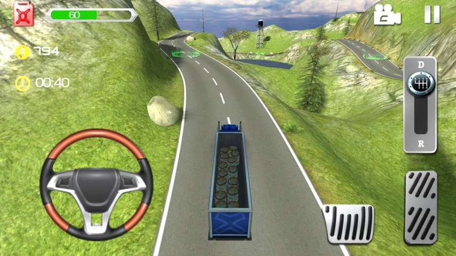 Truck Driving Speed 3D截图2