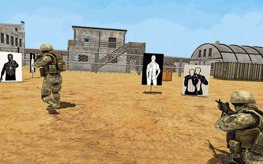 精锐突击队训练冒险 - 陆军任务截图0