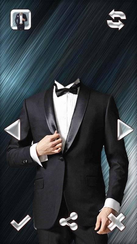 时尚男人的西装的照片编辑器截图3