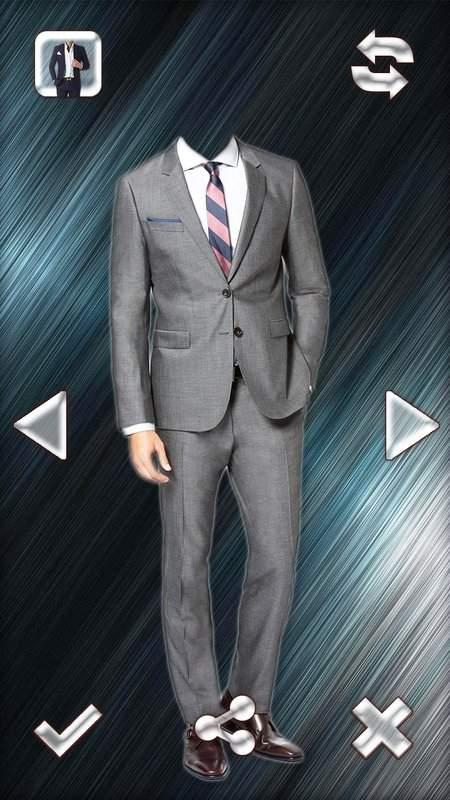 时尚男人的西装的照片编辑器截图4
