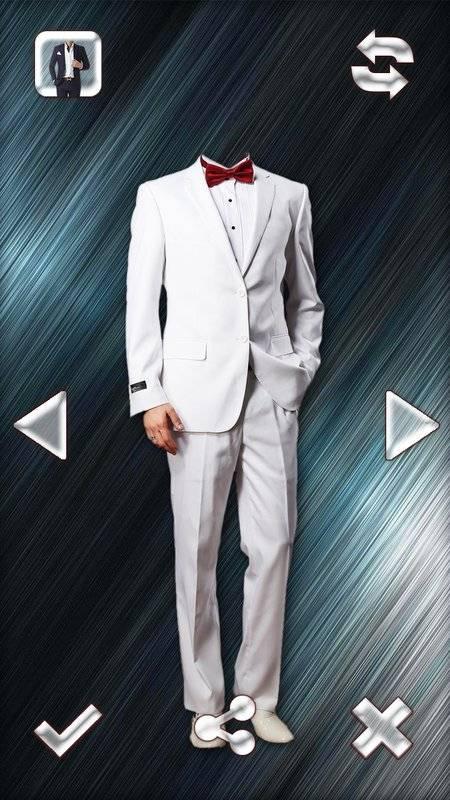 时尚男人的西装的照片编辑器截图5