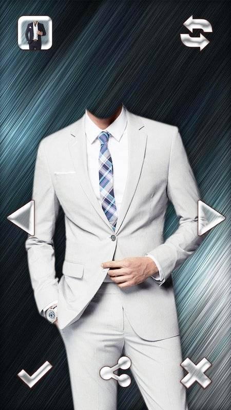 时尚男人的西装的照片编辑器截图6