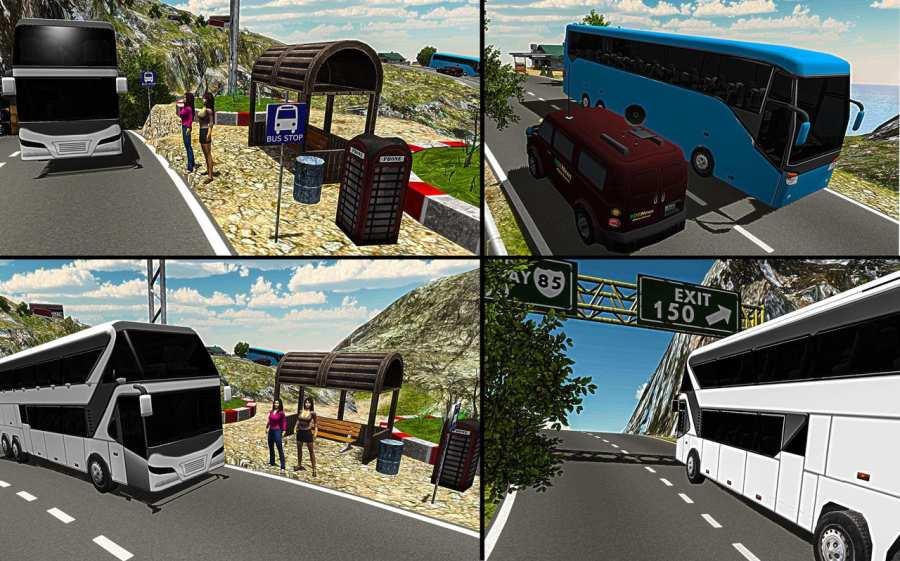 至尊长途汽车模拟器3D截图1