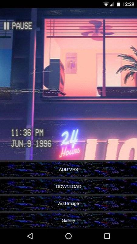 Vhs Camera Glitch Retro and Trippy Effects Editor截图3