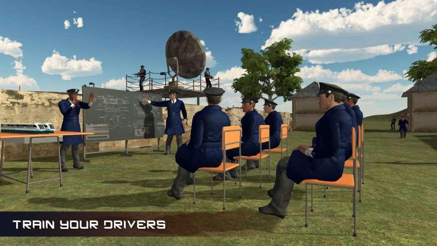 美国智能火车模拟驾驶学校