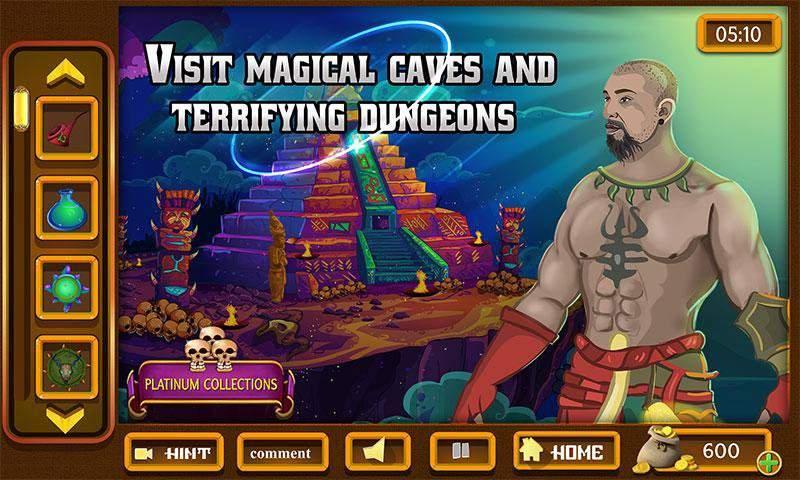 幻想室逃脱 - 神秘的圈子世界截图2