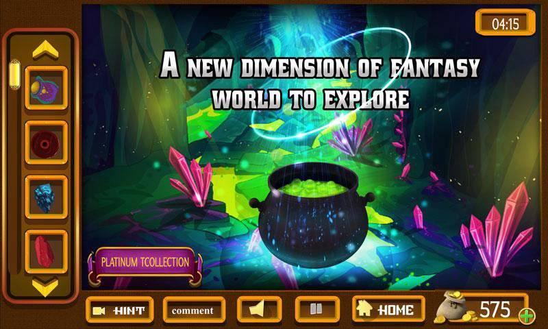 幻想室逃脱 - 神秘的圈子世界截图5