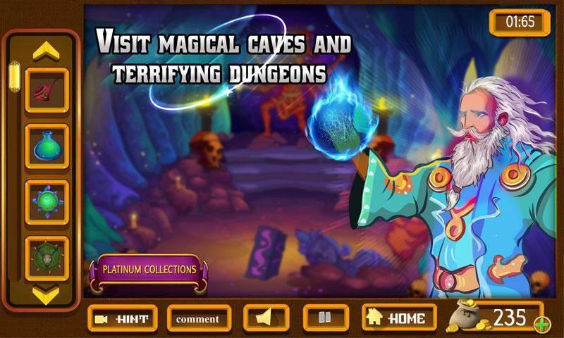 幻想室逃脱 - 神秘的圈子世界截图7
