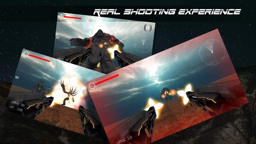 Alien Monsters: VR Shooting截图0