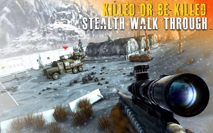 Sniper Strike Mountain Shoot Killer 3D截图0