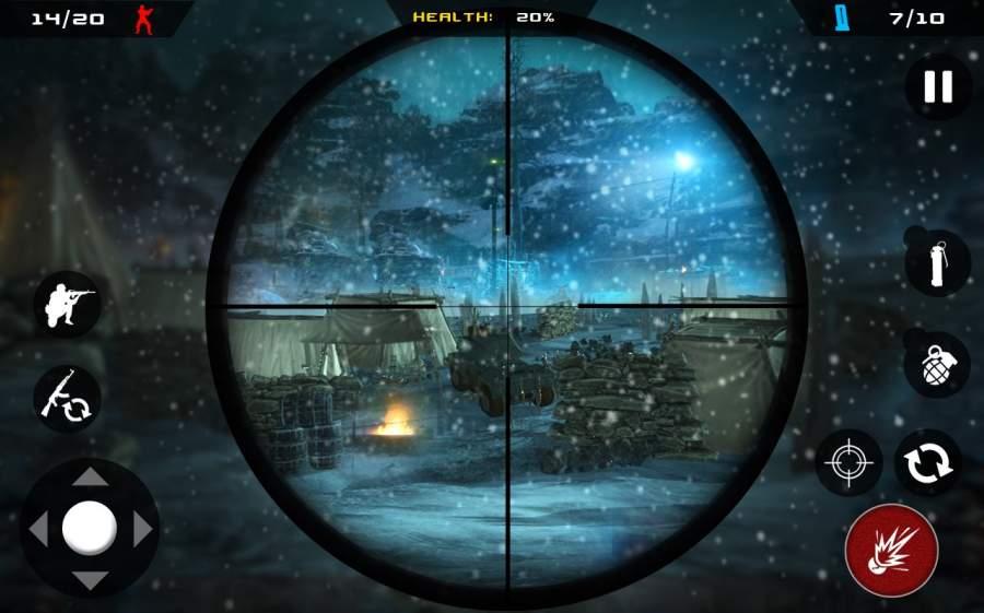 Sniper Strike Mountain Shoot Killer 3D截图1