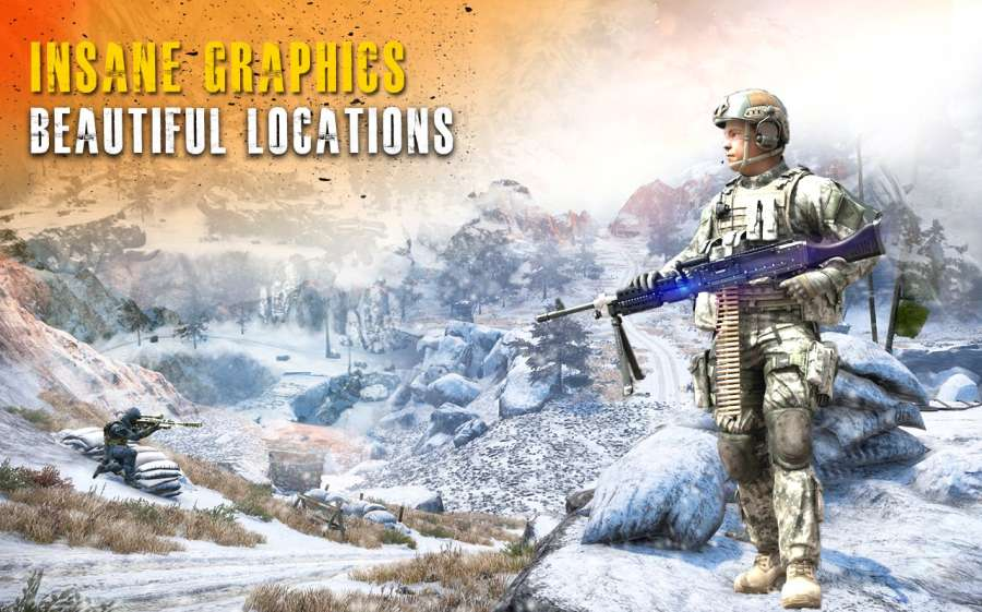 Sniper Strike Mountain Shoot Killer 3D截图2