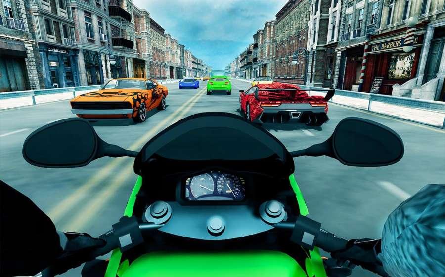 极端交通骑手摩托3D