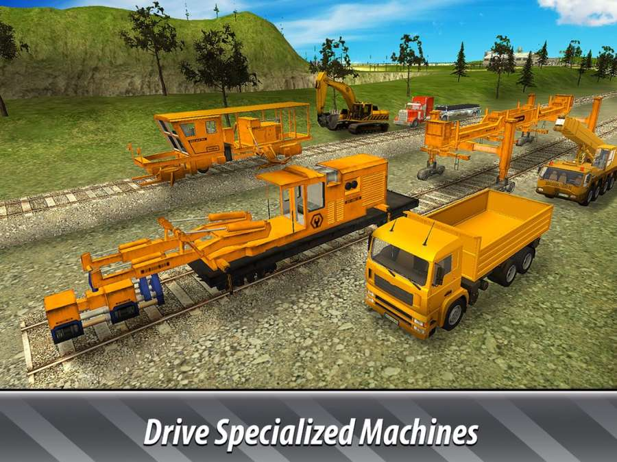 铁路建筑模拟器 - 建铁路!截图4
