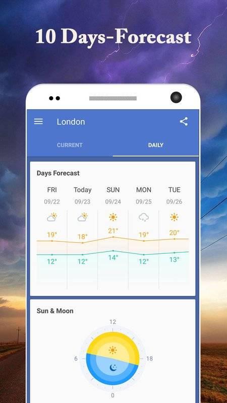 iOS Weather Forecast Widget&Radar Monster - 天氣預報截图2