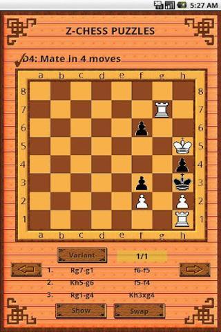 国际象棋 Z-Chess-101