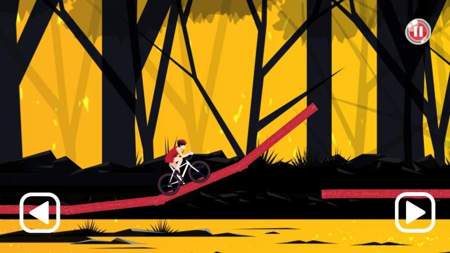 自行车骑手:危险之路