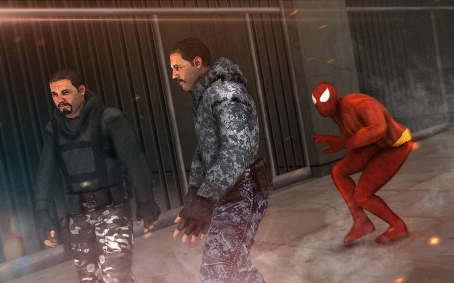 蜘蛛生存监狱隐形逃脱英雄