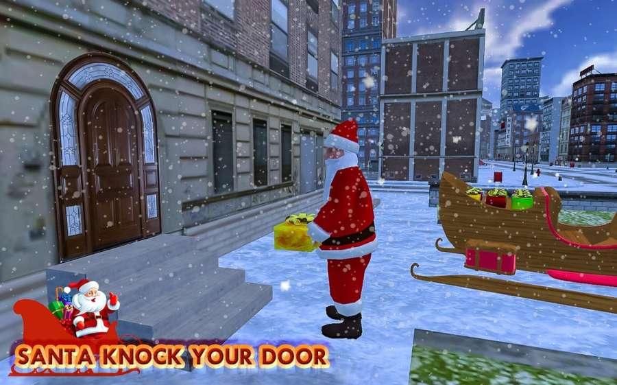 圣诞 礼品 冒险 - 圣诞老人 游戏截图1